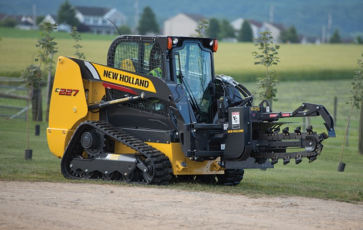 New Holland - C227 Compact Track Loaders