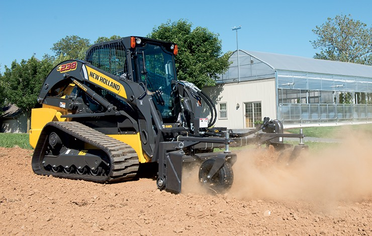 New Holland - C238 Compact Track Loaders