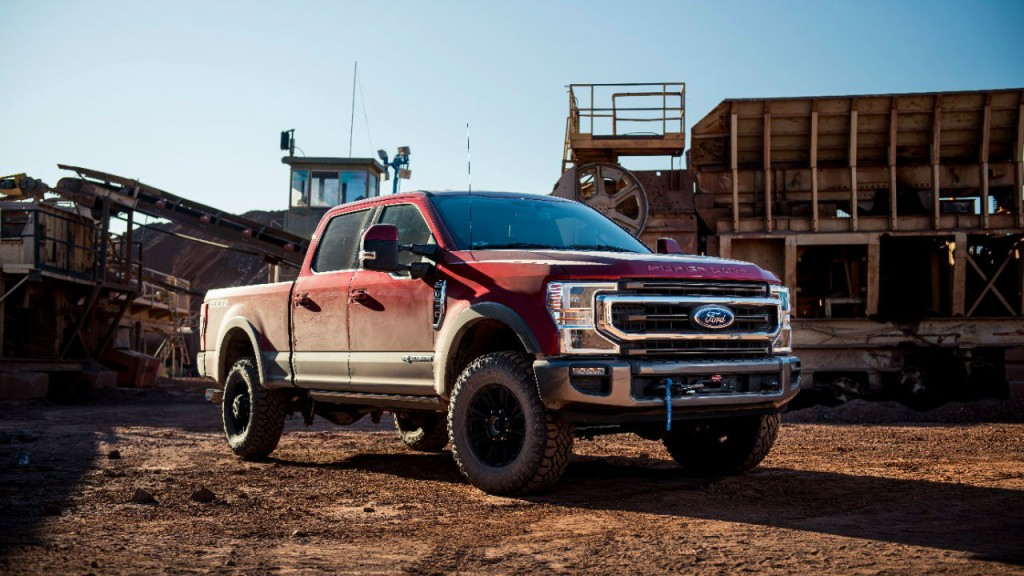 Ford introducing integrated winch for 2020 F-Series Super Duty pickup trucks