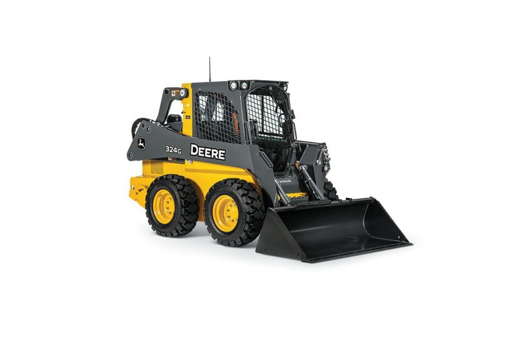 John Deere Construction & Forestry - 324G Skid-Steer Loaders