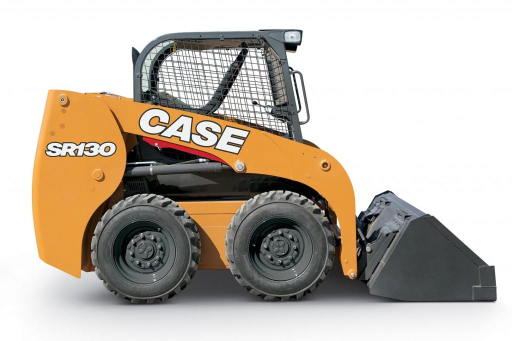 CASE Construction Equipment - SR130 Skid-Steer Loaders