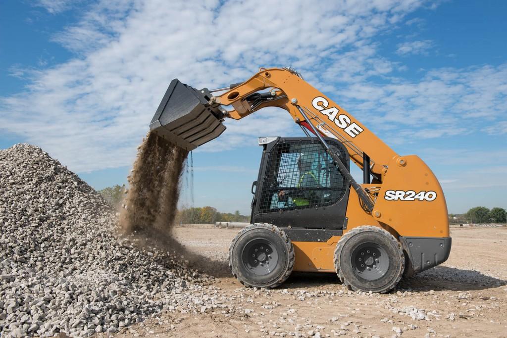 CASE Construction Equipment - SR240 Skid-Steer Loaders
