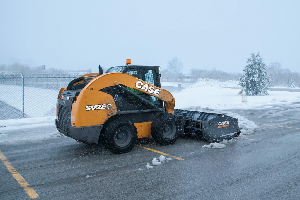 CASE Construction Equipment - SV280 Skid-Steer Loaders