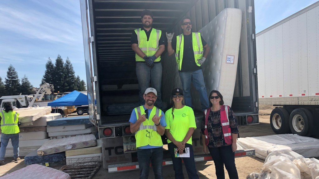 MRC'S Bye Bye Mattress Program surpasses 5 million units recycled in California