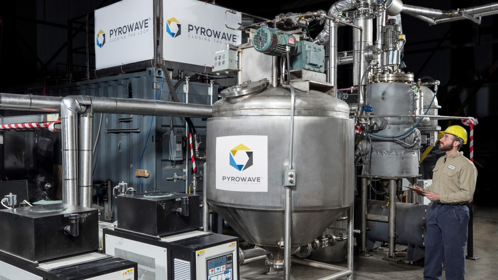 pyrowave microwave-based chemical recycling technology
