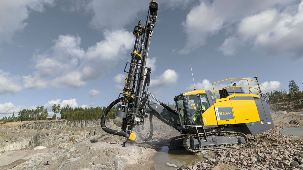 SmartROC D60 surface drill rig