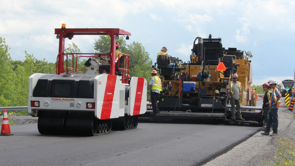 Canadian compaction solution shows solid paving potential