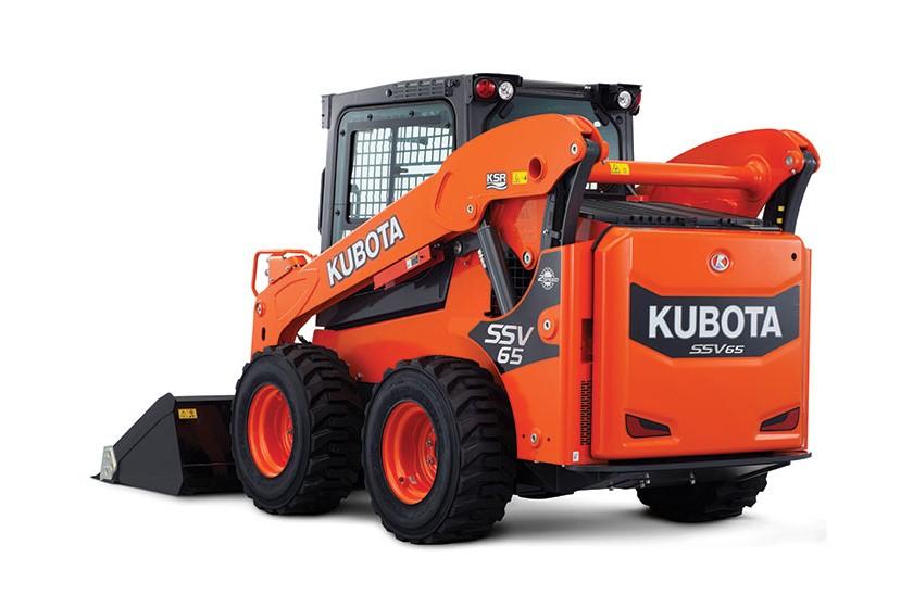 Kubota Canada Ltd. - SSV Series Skid-Steer Loaders