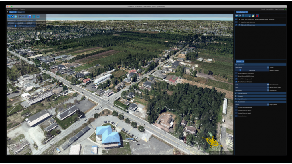 Software lets municipality handle flow of LiDAR data, improving dike inspection process