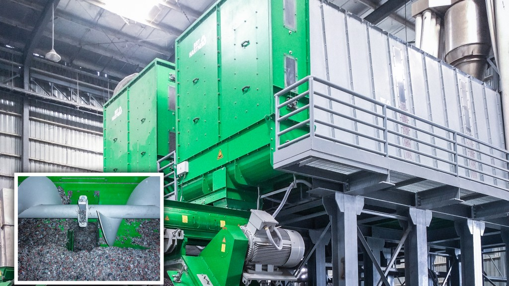 BRT Hartner recycling processor