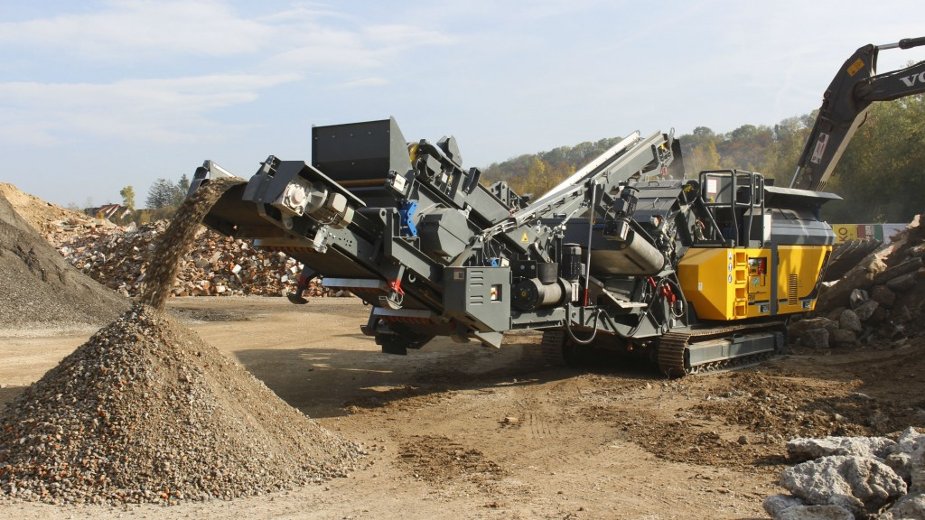 Rubble Master celebrates 20-year anniversary with new compact crusher and screen models