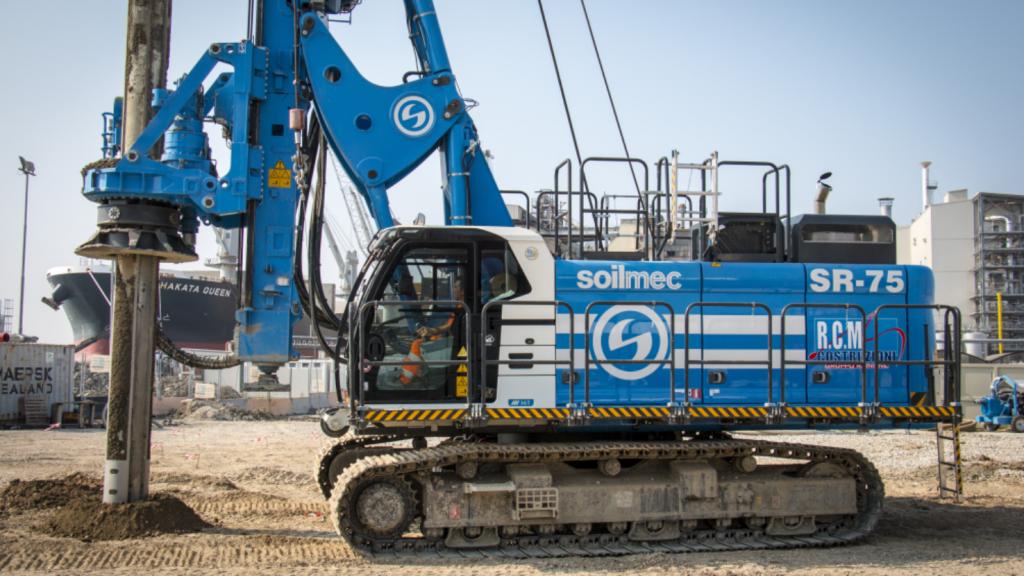 Soilmec releases first rig model of new Blue Tech line