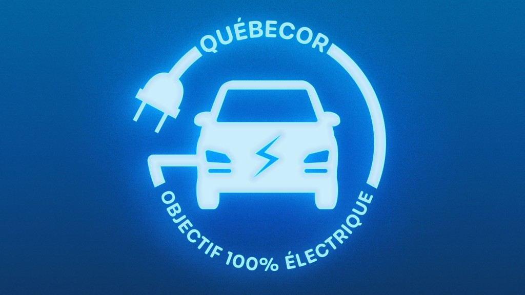Quebecor to convert entire fleet to electric vehicles