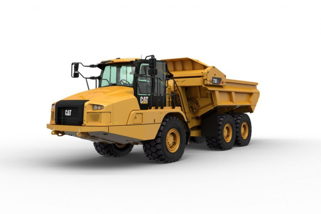 Caterpillar Inc. - 730 EJ Articulated Dump Trucks