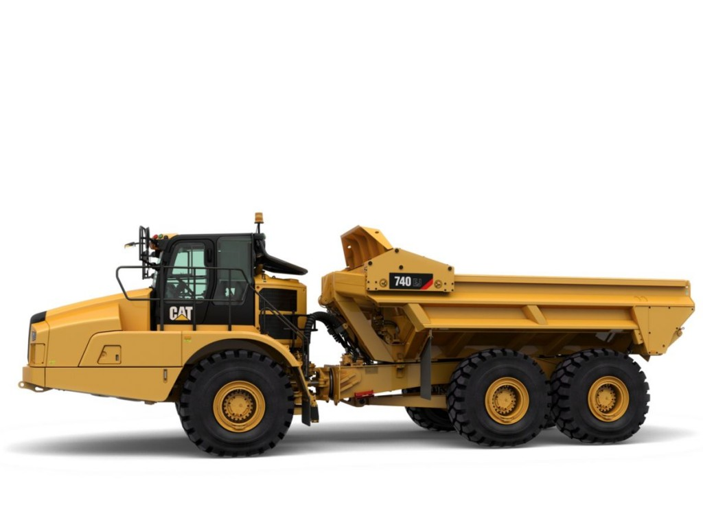 Caterpillar Inc. - 740 EJ Articulated Dump Trucks