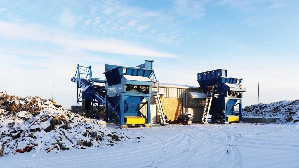 ssi pri-max shredders in Alberta winter
