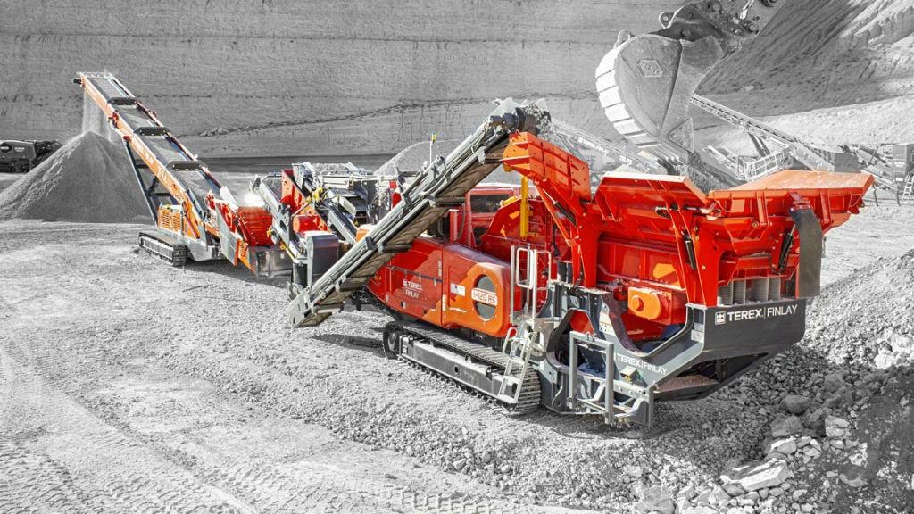 The I-120RS impact crusher