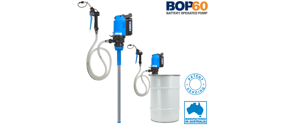 FLO Components to introduce rechargeable oil pump at Truck World 2020