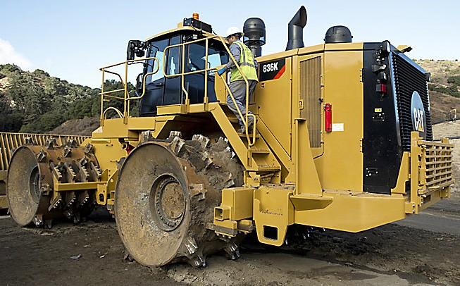 Caterpillar Inc. - 836K Compactors