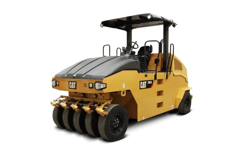 Caterpillar Inc. - CW16 11-wheel Pneumatic Tire Rollers