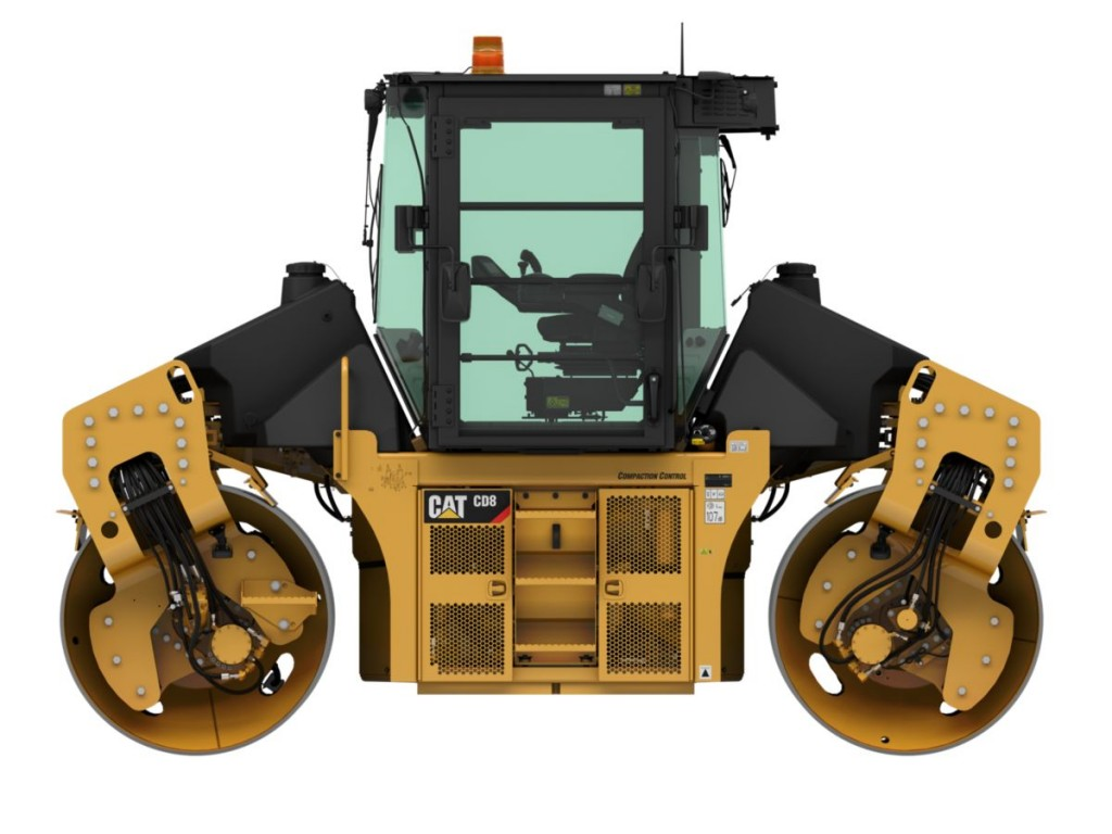 Caterpillar Inc. - CD8 - Solid Drum Compactors