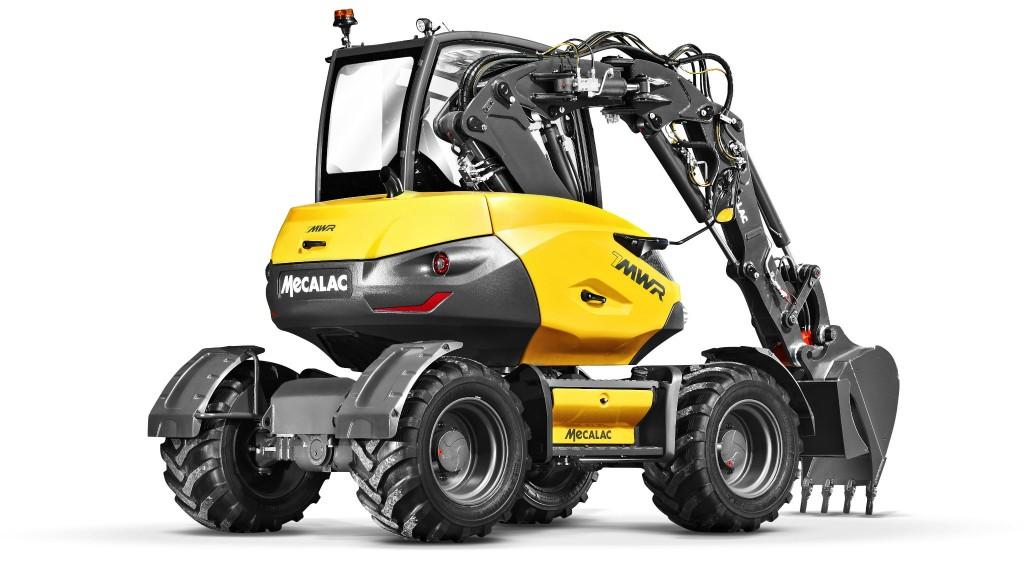 Mecalac to demo wheeled excavator at  CONEXPO-CON/AGG 2020