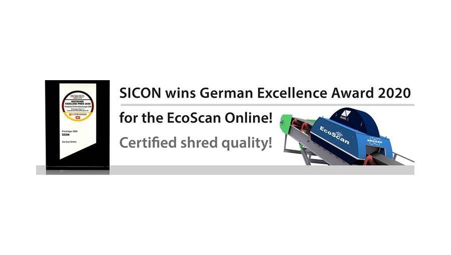 banner for Sicon winning german award