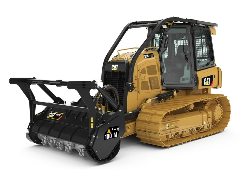 Caterpillar Inc. - D3K2 Mulcher Crawler Dozers