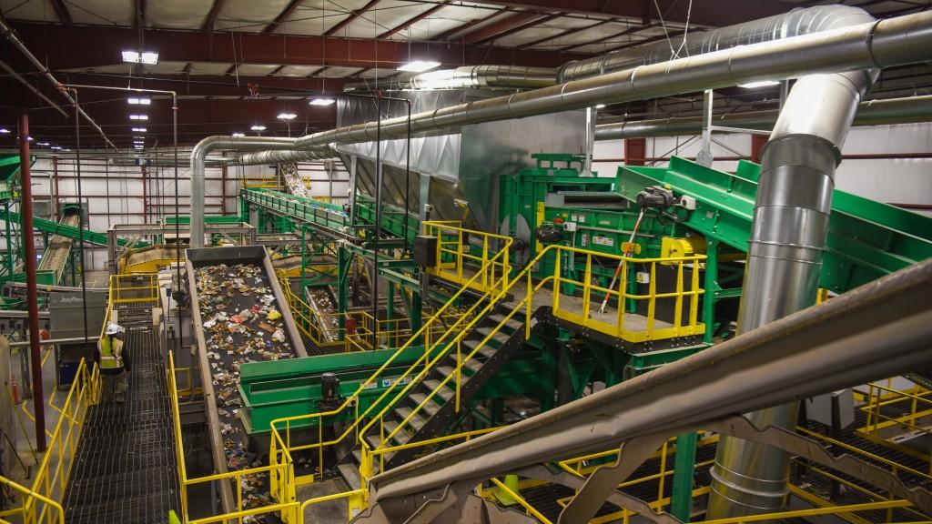 Van Dyk recycling facility