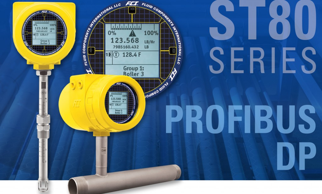 Flow meter puts air/gas flow measurement on the bus