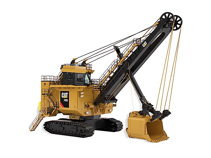 Caterpillar Inc. - 7495 with Rope Crowd Mining Shovels