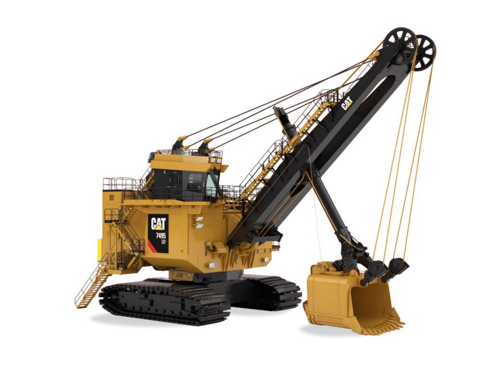 Caterpillar Inc. - 7495 HF with Rope Crowd Mining Shovels