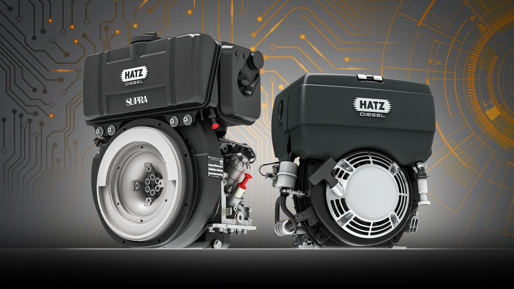 Hatz has introduced first Tier 4 Final–certified single-cylinder engine with electronic control
