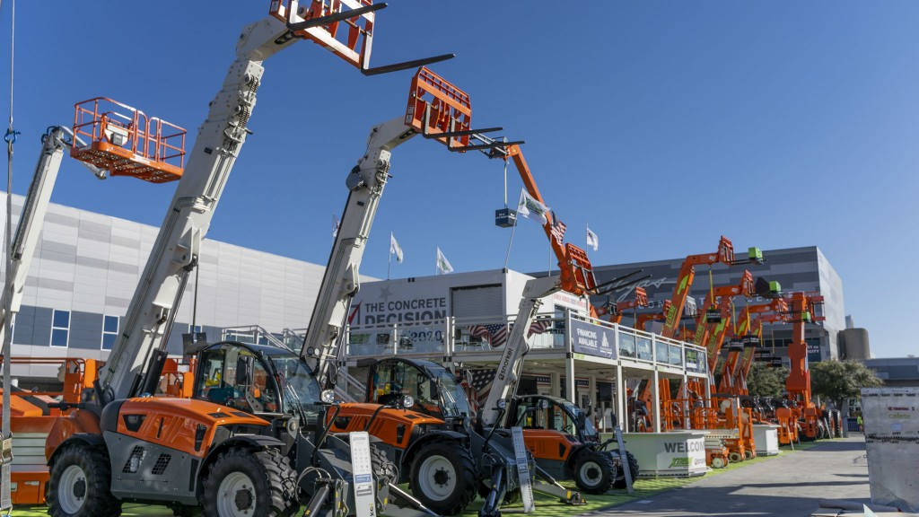 Snorkel focusing on rough-terrain models at World of Concrete