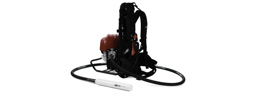 Minnich introduces 50 CC backpack vibrator at World of Concrete
