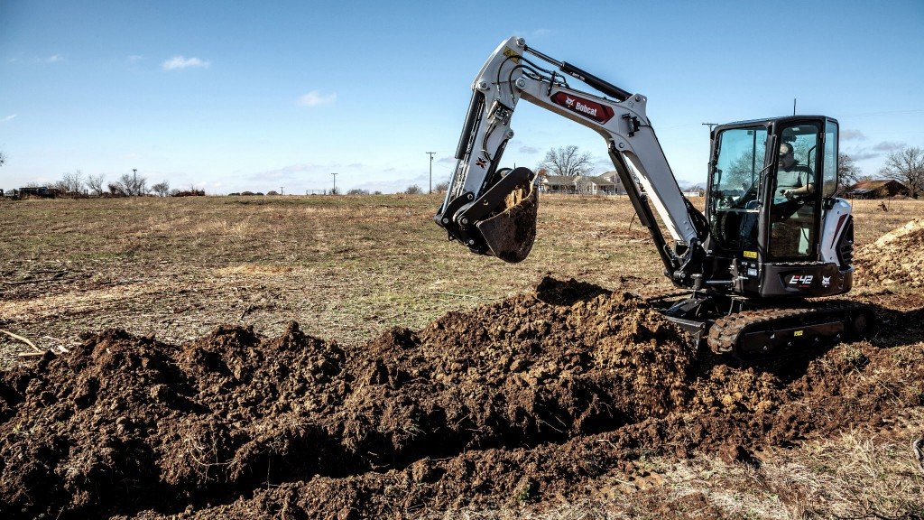 R2-Series compact excavators from Bobcat include performance enhancements