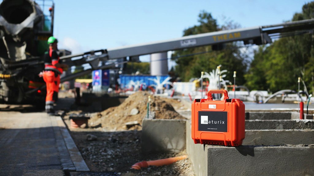 Kryton wireless concrete monitoring sensors can be reused