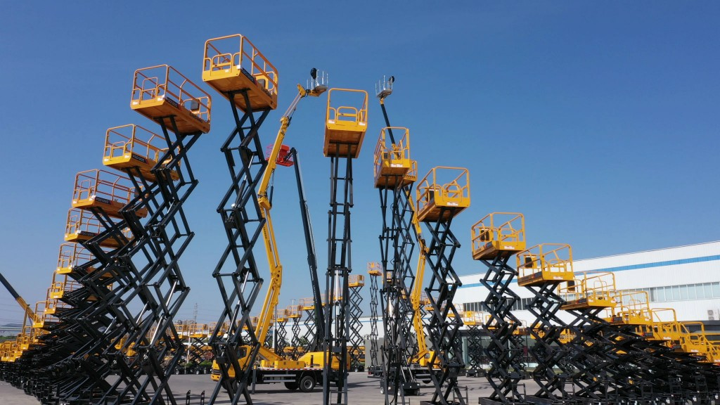 LiuGong to launch scissor lift line at the ARA Show