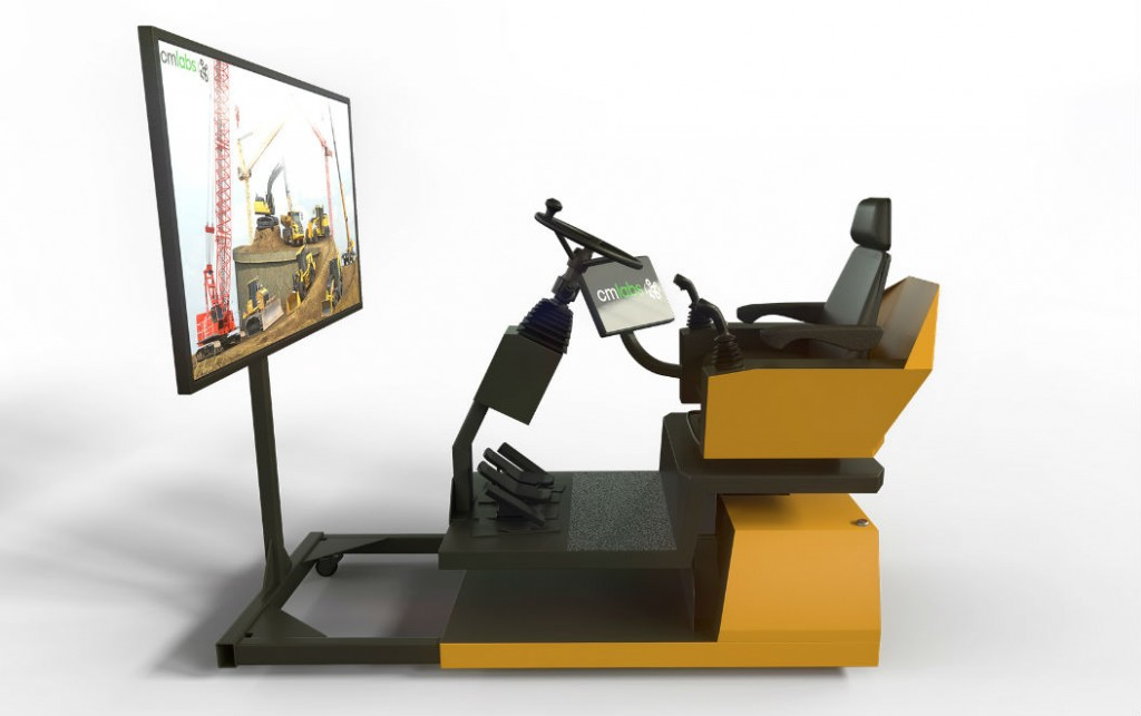 CM Labs develops affordable heavy equipment training simulation for contractors