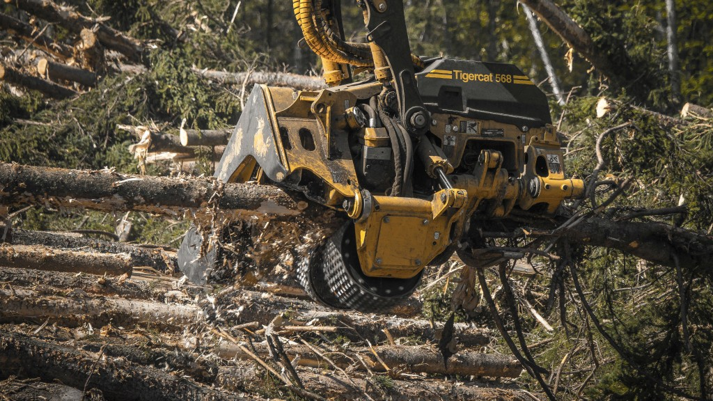 Tigercat expands harvesting head line to include roadside processing technology