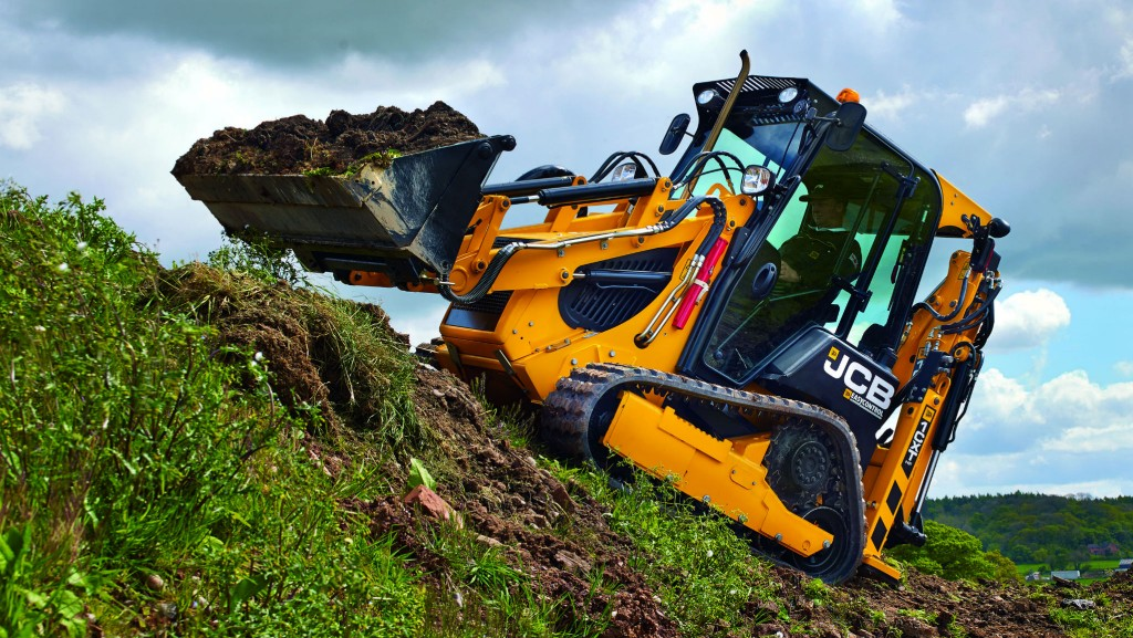 JCB's 1CXT tracked backhoe loader
