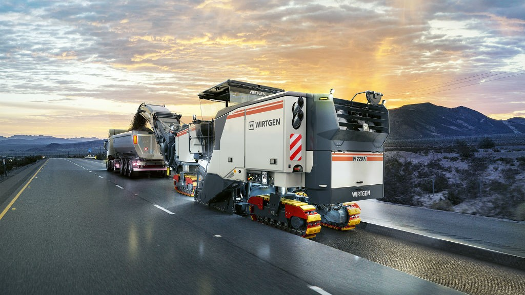 Wirtgen to introduce new cold milling machines at CONEXPO-CON/AGG