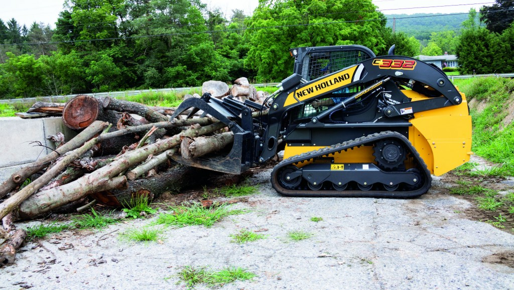 New Holland launches 300 Series skid steer and compact track loaders