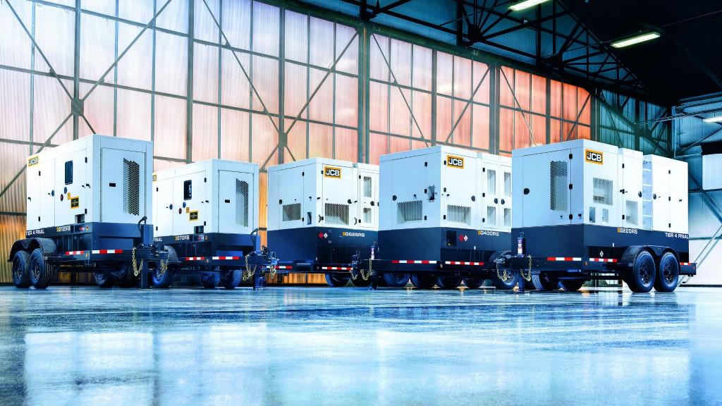 JCB launches towable generators for North American rental market
