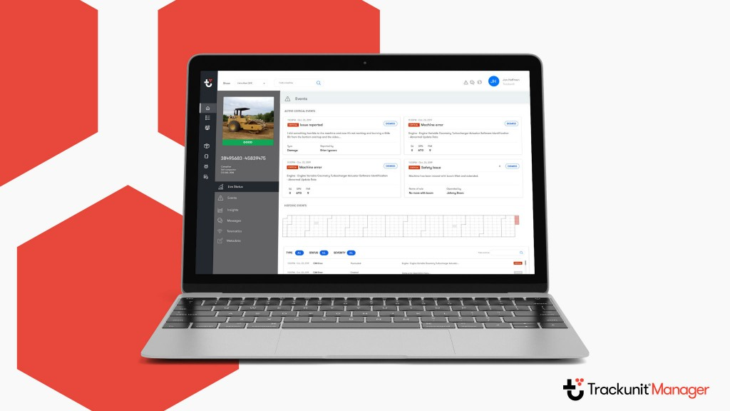 Trackunit adds four productivity capabilities to Trackunit Manager platform