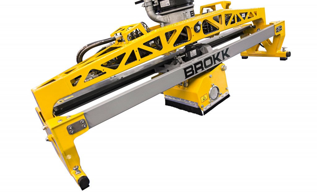 Brokk releases attachment for controlled material removal