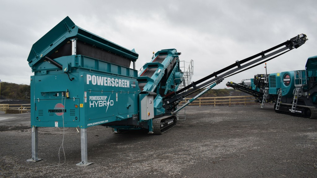 Powerscreen to showcase hybrid screen, digital technology at CONEXPO-CON/AGG 2020
