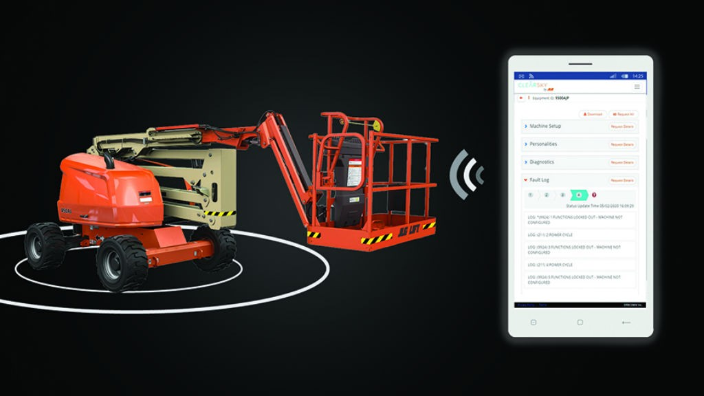 JLG's new remote analyzer reader
