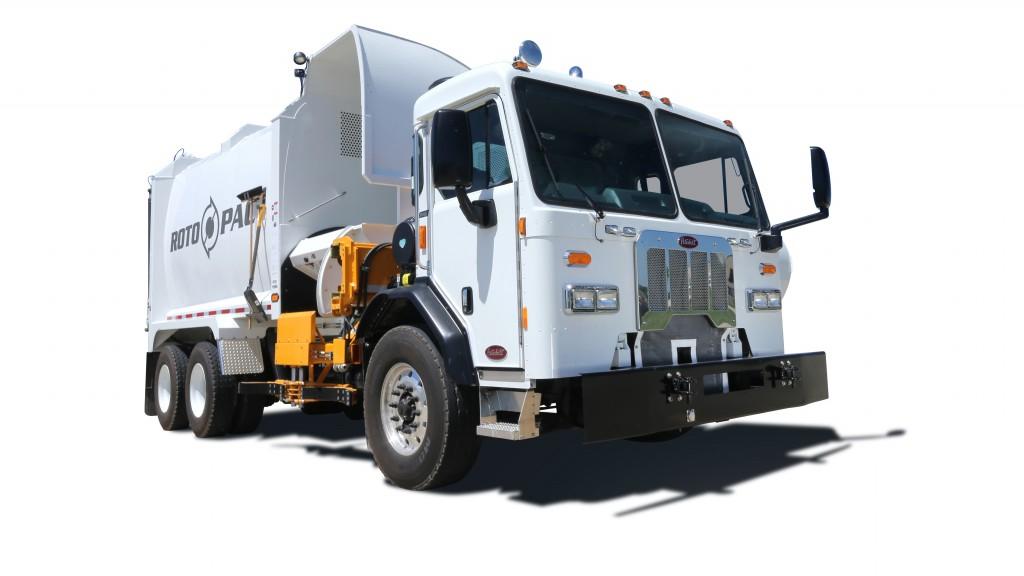 New Way trucks refuse truck