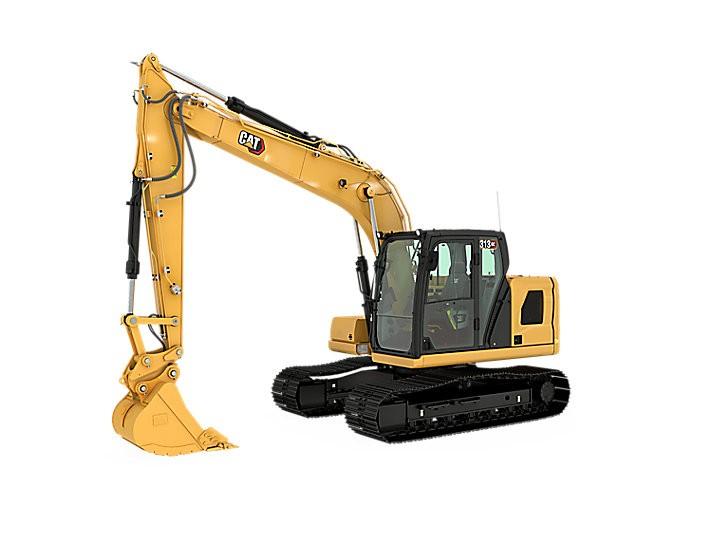Caterpillar Inc. - 313 GC Mini Excavators